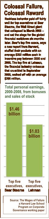 Bear and Lehman bonuses