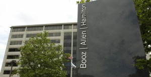 Booz Allen: leveraging the public purse for private gain.