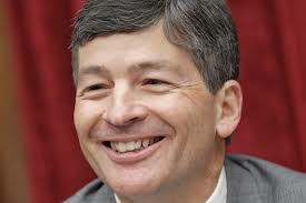 House Financial Services chairman Jeb Hensarling: Doing his best to make a joke out of excessive CEO pay.