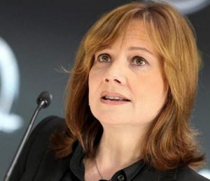 The new GM CEO Mary Barra is making over 300 times what the automaker giant is paying its workers.