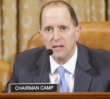 House Ways and Means Committee chair David Camp, a conservative Republican, is advancing a tax reform that has irritated Wall Street.