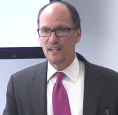 """America's workers, U.S. labor secretary Thomas Perez noted last week at the release of a new Economic Policy Institute inequality study, """"are getting a smaller share of the pie that they helped to bake."""""""