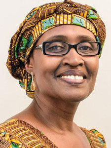 We all need, says Oxfam's Winnie Byanyima, to stand in worldwide solidarity and demand an end to  extreme inequality.